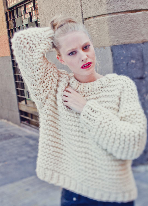 Nolita Sweater - Nivel fácil - Niveles de tejer - Kits de tejer