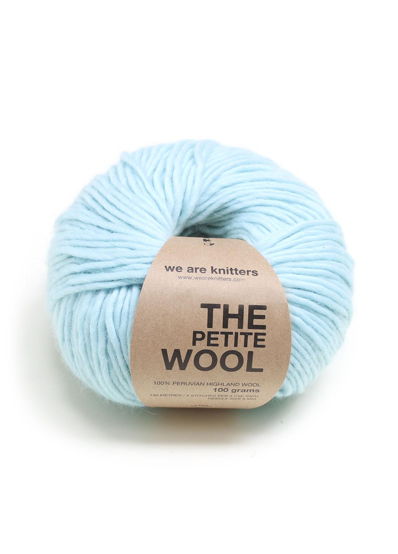 We Are Knitters Lana fina peruana 100% Aguamarina Lana Fina